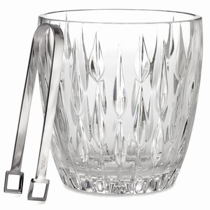Marquis Collection Rainfall Ice Bucket & Tongs