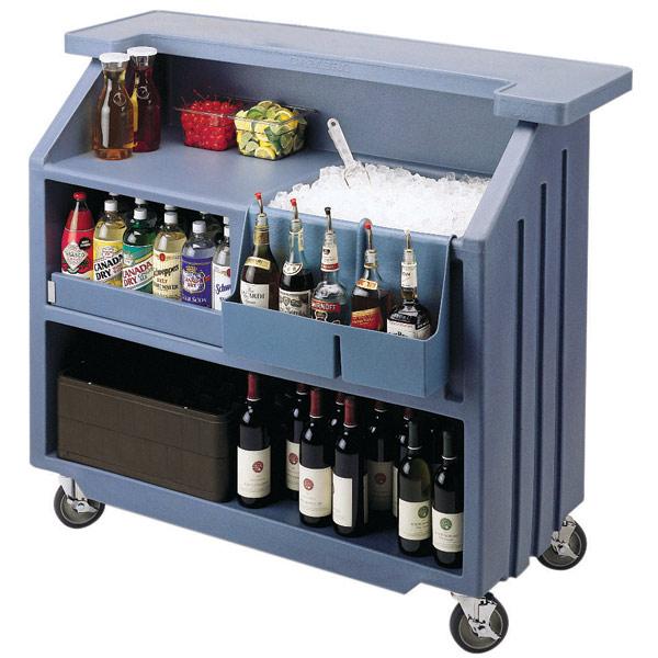 Cambro Portable Bar 540 Slate Blue Drinkstuff