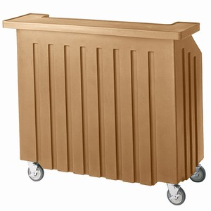 Cambro Portable Bar 540 Coffee Beige