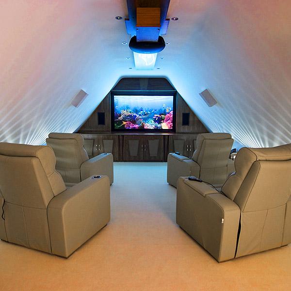 Premiere Home Cinema Chair Beige Cinema Seating Massage