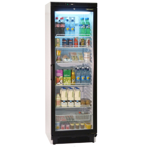 Blizzard Glass Front Refrigerator GDR40
