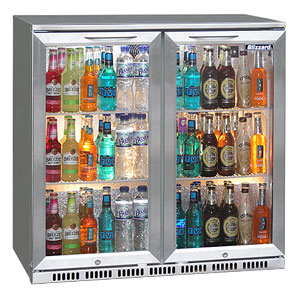 Blizzard BAR-2 Bottle Cooler Stainless Steel
