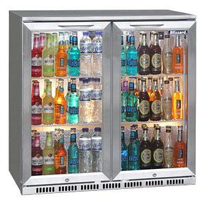 Blizzard BAR-2 Bottle Cooler Stainless Steel