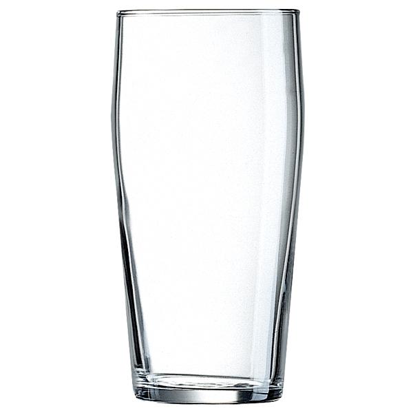 Nonic Pint Glasses CE 20oz x 48 English Pub Glasses Imperial Pint Glasses