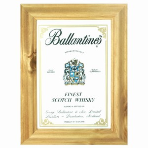Ballantine's Scotch Whisky Bar Mirror