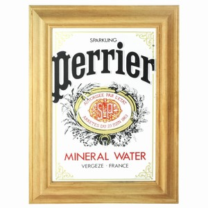 Perrier Water Bar Mirror