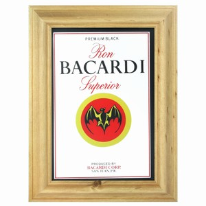 Bacardi Rum Bar Mirror