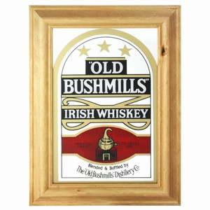 Old Bushmills Whisky Bar Mirror