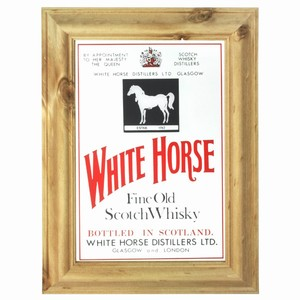 White Horse Scotch Whisky Bar Mirror