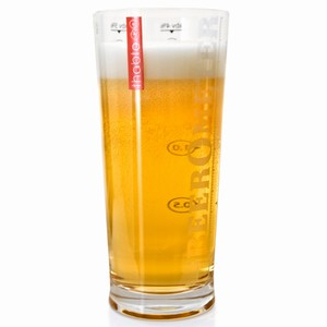 BeerOmeter Glass 21oz / 600ml