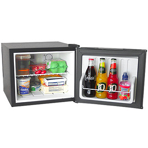 Caldura Mini Fridge 17ltr Black