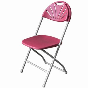 Jackson Folding Chair Burgundy