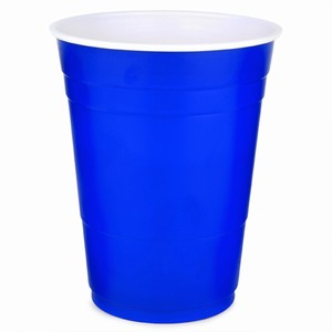 Solo Blue American Party Cups 16oz / 455ml