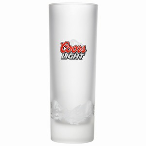 Coors Light Frosted Half Pint Glasses CE 10oz / 285ml