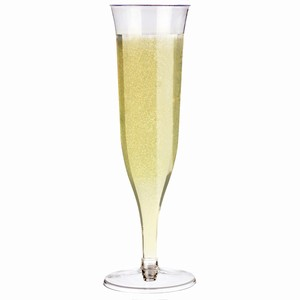 Disposable Champagne Flutes 4.4oz / 125ml