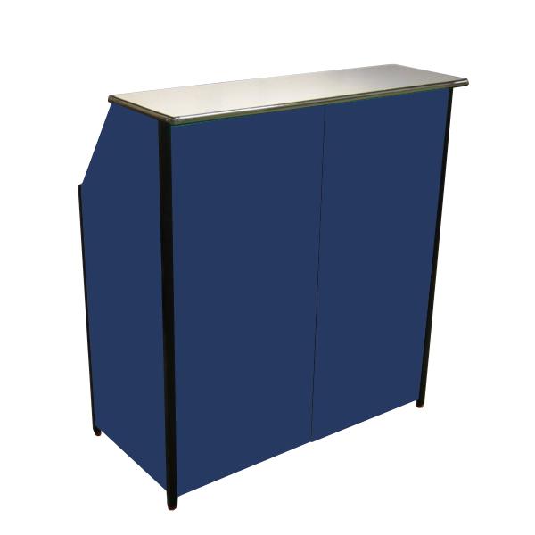 Compact Portable Bar Blue Portable Home Bar Mobile Bar