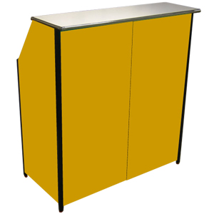 Compact Portable Bar Yellow