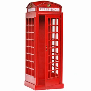 Red Telephone Box Lifesize Replica