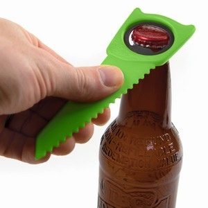 Citrusaw: Bottle Opener with Fruit Slicer
