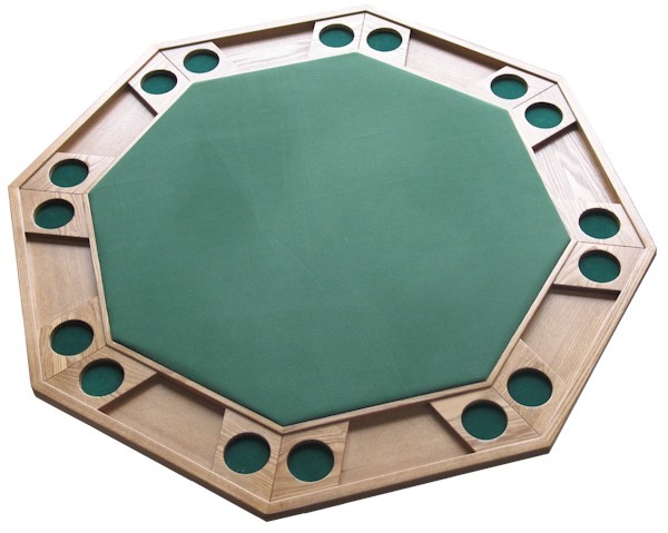... Octagonal Wooden Poker Table With Folding Legs Drinkstuff Octagonal  Wooden Poker Table With Folding Legs Code ...