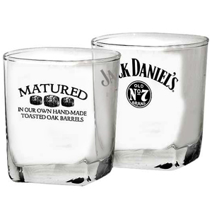 Jack Daniel's Twin Tumblers 10.6oz / 300ml