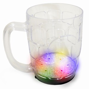 Flashing Beer Mug 20oz / 568ml