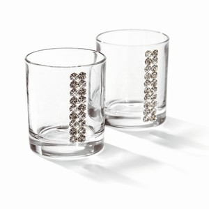 Chinelli Swarovski Regina Vodka Glasses 2.1oz / 60ml