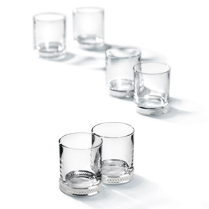 Chinelli Loto Vodka Glasses 2.1oz / 60ml