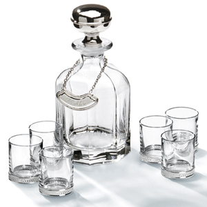 Chinelli Loto Vodka Decanter Set