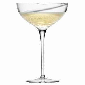 LSA Malika Champagne Saucers 13.2oz / 375ml