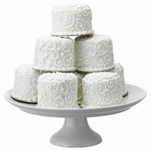 LSA Ollie Porcelain Cake Stand