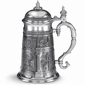 Four Elements Pewter Tankard 35.2oz / 1ltr