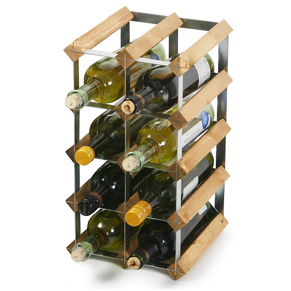 Traditional Wooden Wine Racks Pine