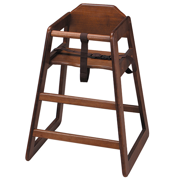 wooden high chair walnut wooden highchair child seat