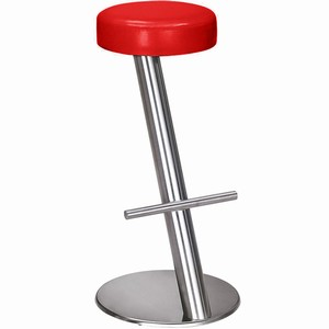 Selva Commercial Bar Stool Red Single