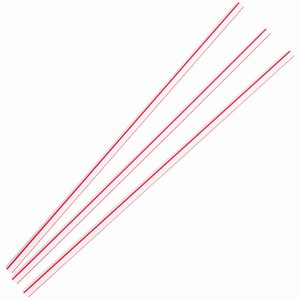 Sip Stir Straws Red and White