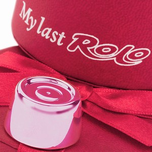 My Last Rolo Pink (with Engraving)