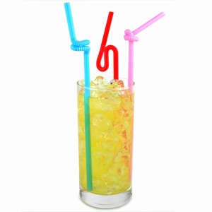 Artistic Bendy Straws