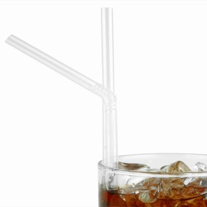 Crystal Bendy Straws