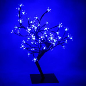 Blue LED Bonsai Tree