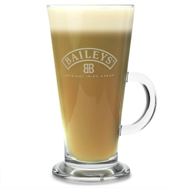 Baileys Latte Glass