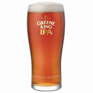 Greene King IPA Pint Glasses CE 20oz / 568ml