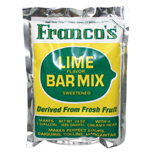 Franco's Lime Cocktail Mix 680g