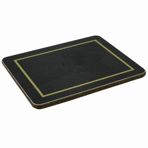 Melamine Coasters Black