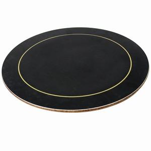 Melamine Round Placemats Black