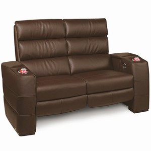 Inception Home Cinema Loveseat Brown