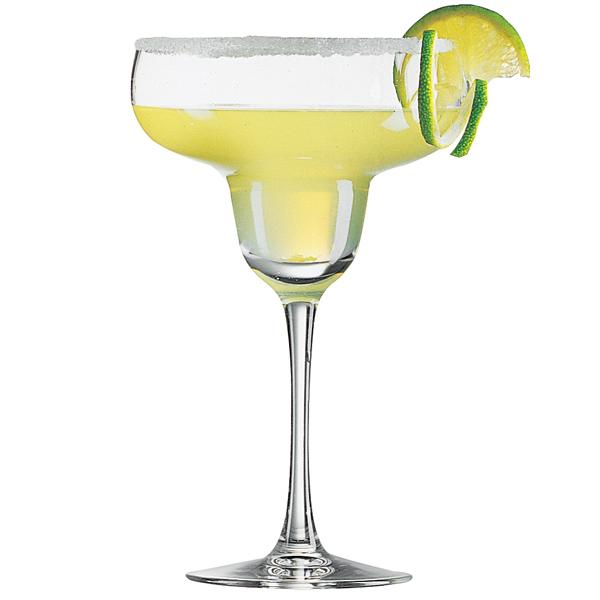 Margarita cocktail glasses