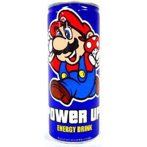 Nintendo Mario Power Up Energy Drink