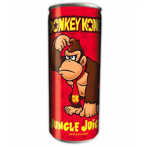 Nintendo Donkey Kong Jungle Juice Energy Drink