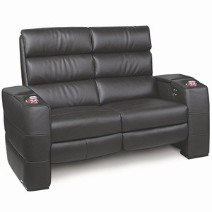 Inception Home Cinema Loveseat Black